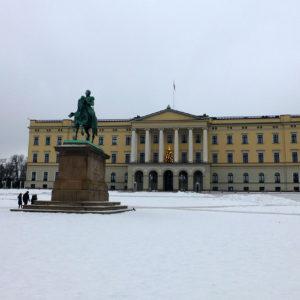 Le palais royal d'Oslo a été construit au XIXe siècle