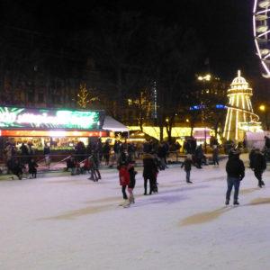 La patinoire Spikersuppa au centre d'Oslo