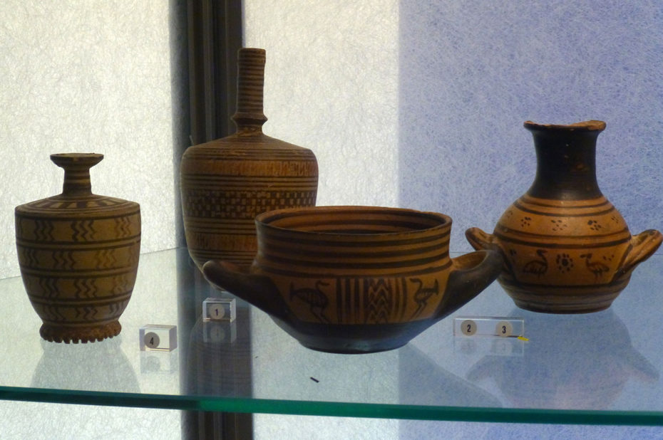 Poteries d'origine grecque et romaine