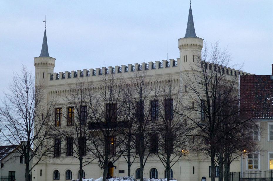 Bâtiment dans l'enceinte de la forteresse d'Akershus