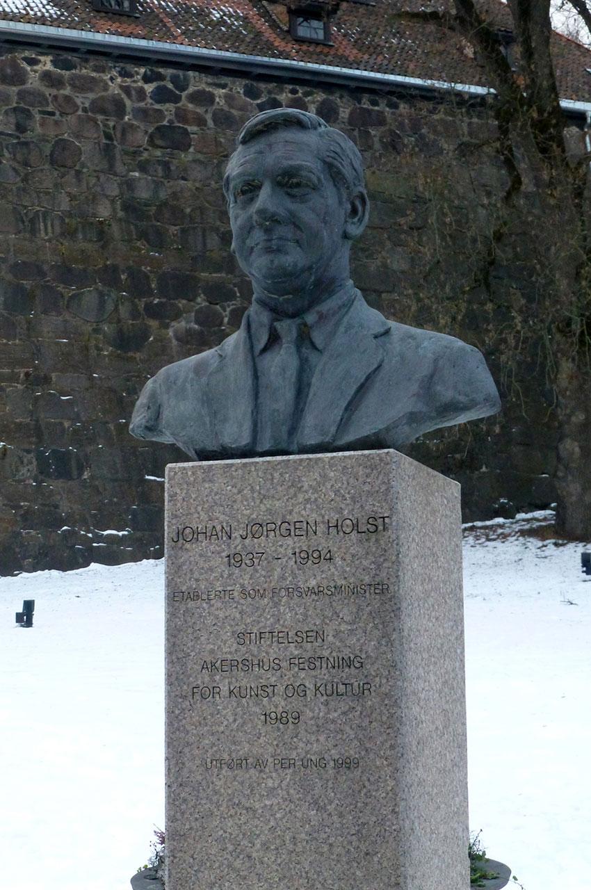 Buste de Johan Jorgen Holst