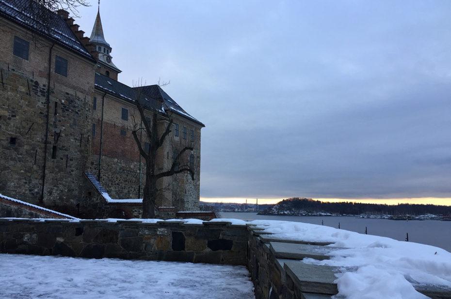 La forteresse d'Akershus veille sur le fjord d'Oslo