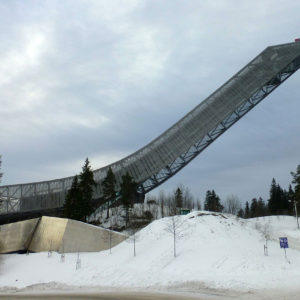 L'Holmenkollbakken, tremplin de saut à ski d'Oslo
