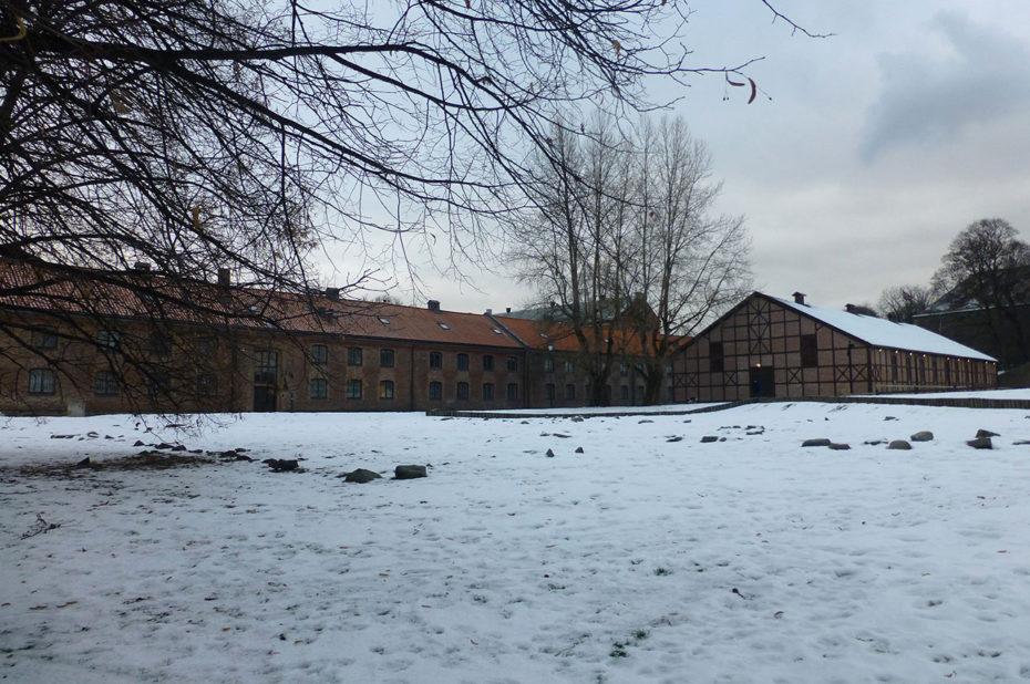 Installations militaires et écuries de la citadelle