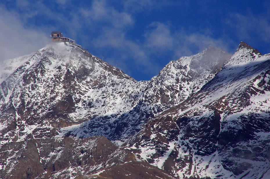Les premières neiges arrivent sur le Pic Blanc