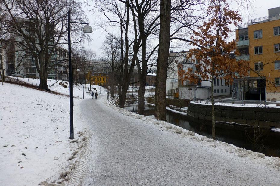 Promenade le long de la rivière Akerselva
