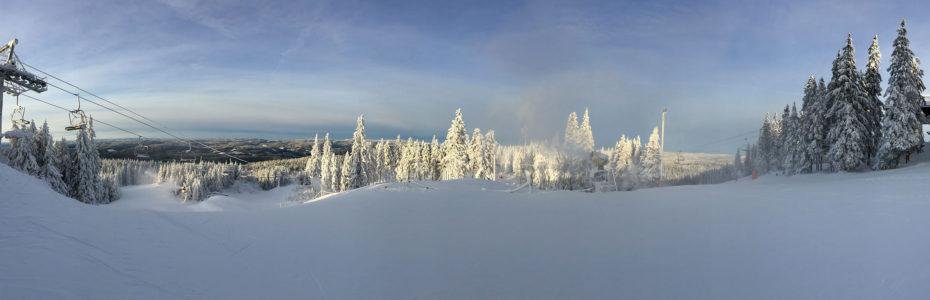 Seul au monde dans la forêt de Nordmarka un 24 décembre