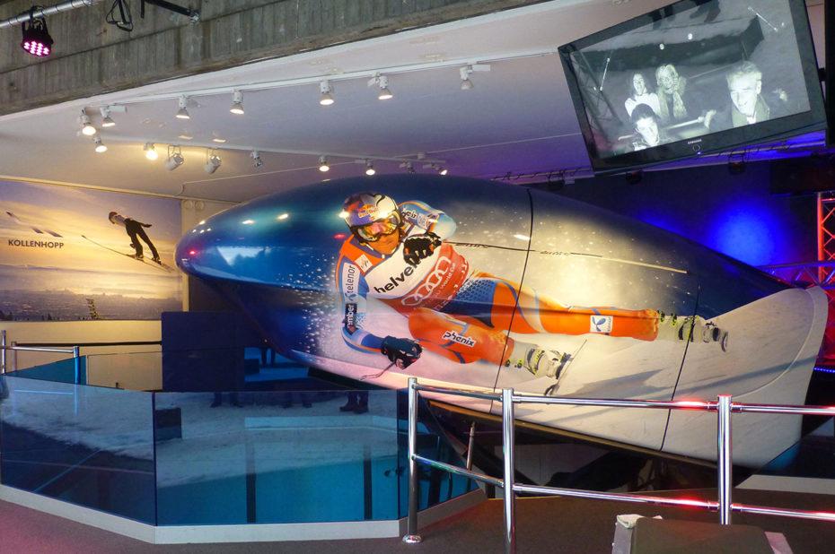 Simulateur de ski de Holmenkollen