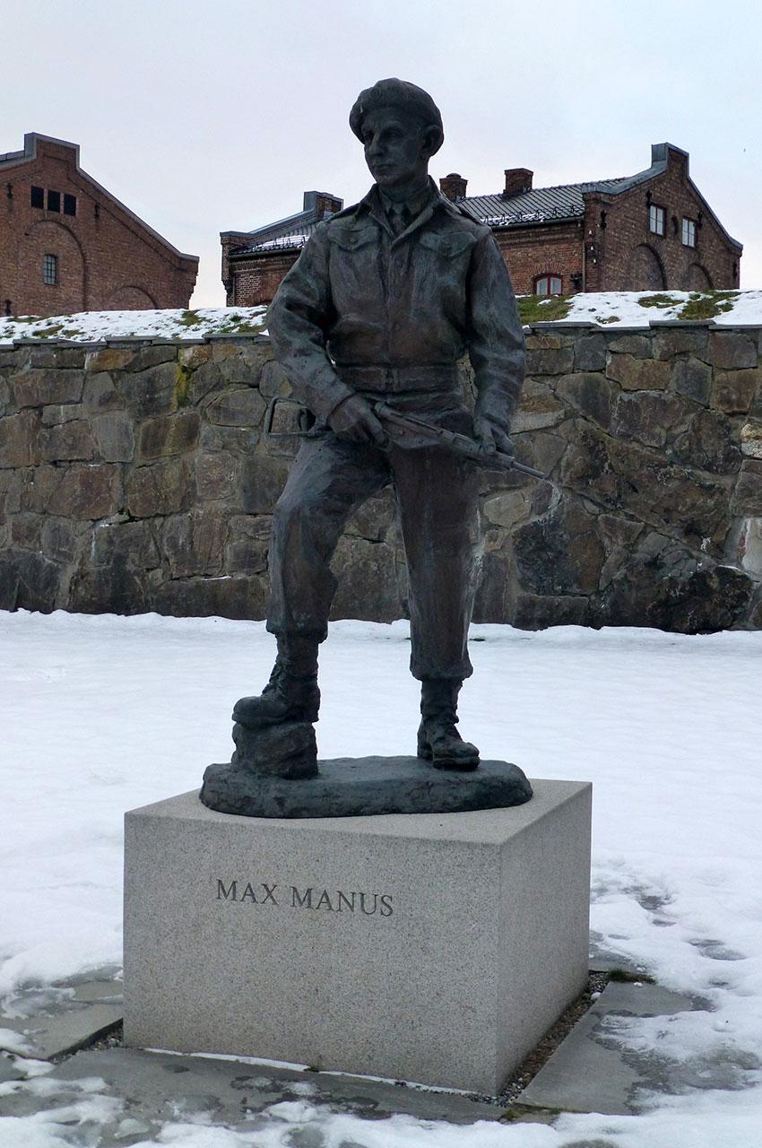 Statue de Max Manus