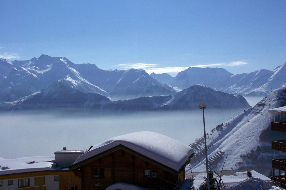 L'Alpe d'Huez au petit matin