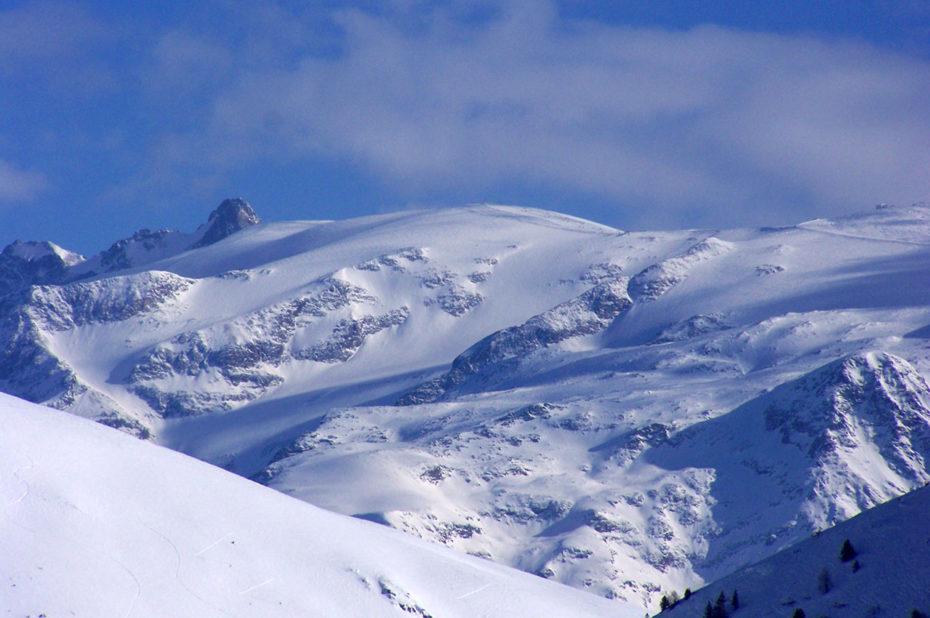 Le glacier des 2 Alpes n'est à quelques km à vol oiseau
