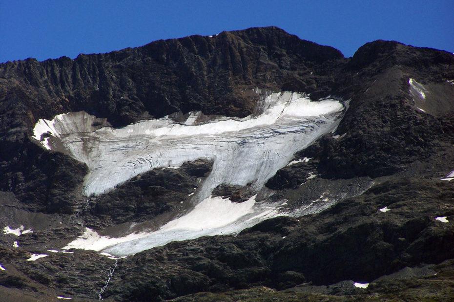 Le glacier recule rapidement dans le massif des Grandes Rousses