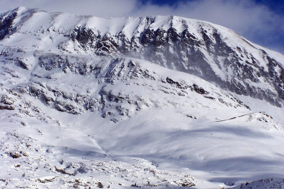Les Grandes Rousses enneigées, symbole de l'Alpe d'Huez