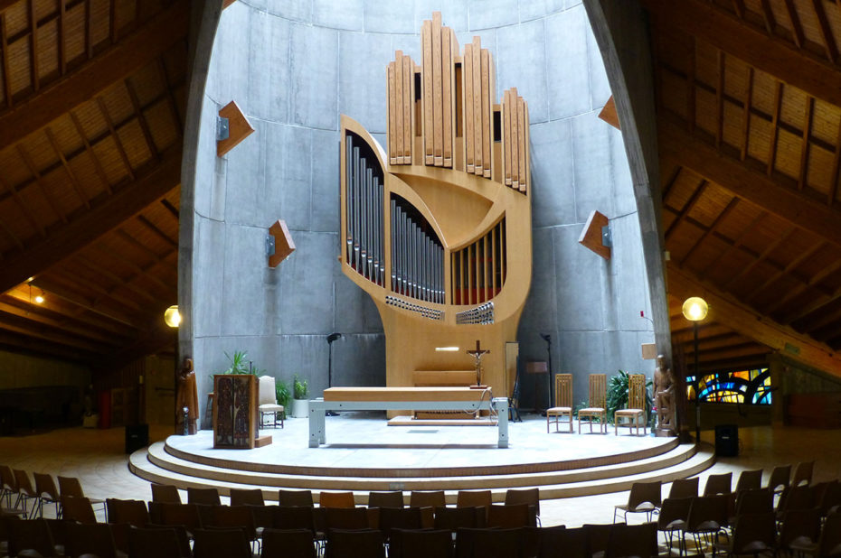 Intérieur de l'église Notre-Dame des Neiges