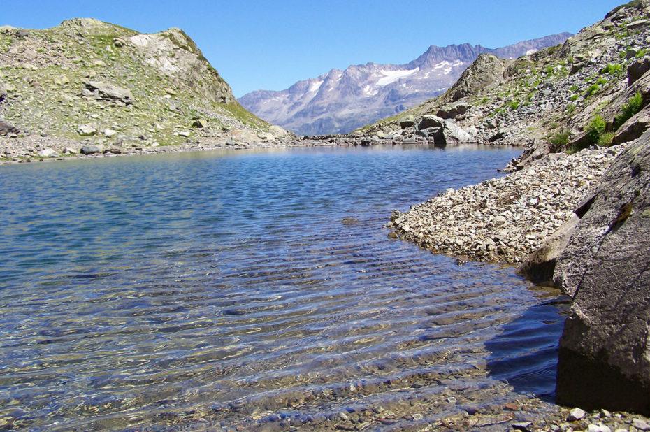 Le lac de Belledonne, à 2171 m d'altitude