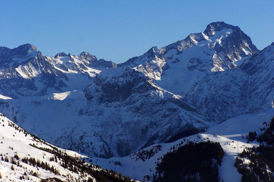 La majestueuse Muzelle, qui culmine à 3465 mètres