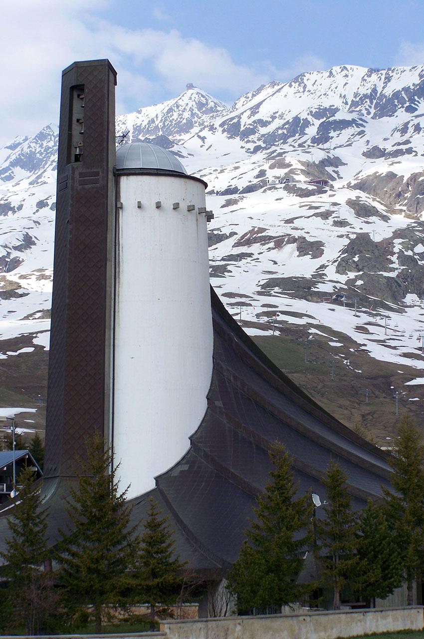 L'église Notre-Dame des Neiges a ouvert ses portes en 1970