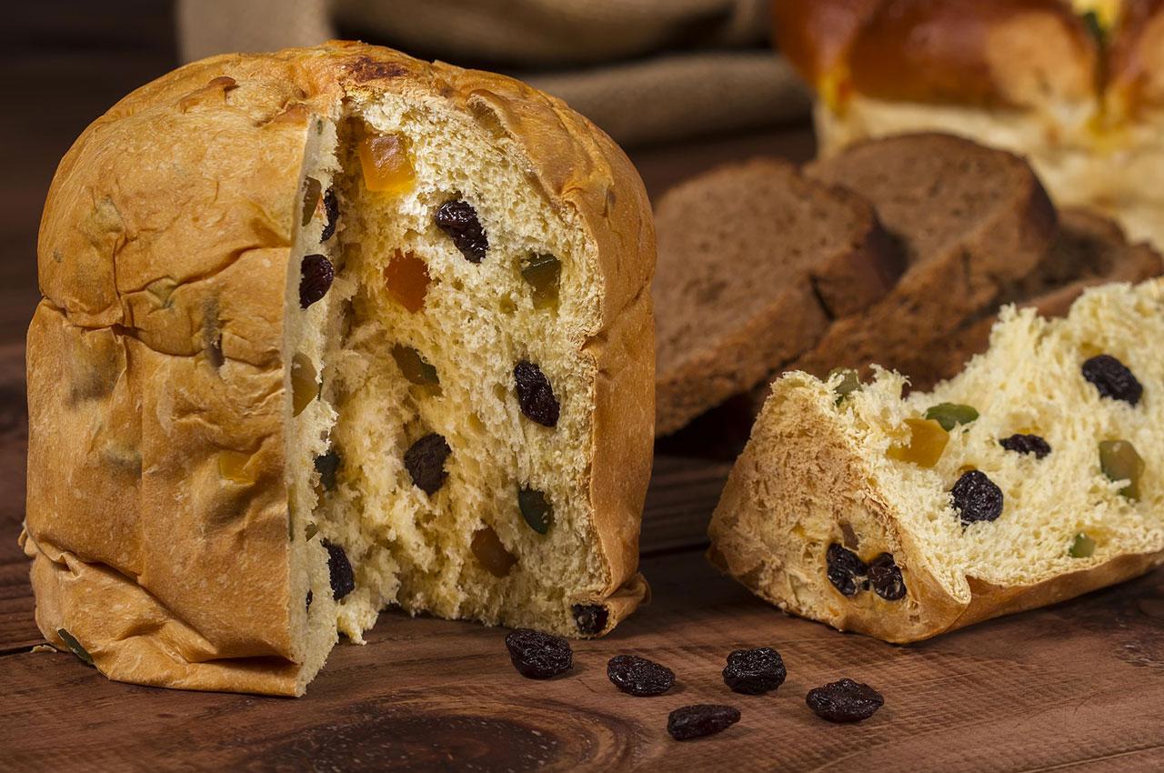 Le Panettone, célèbre brioche aux fruits confits