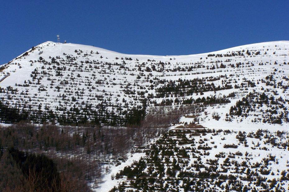 Le sentier panoramique de l'Alpe d'Huez en hiver
