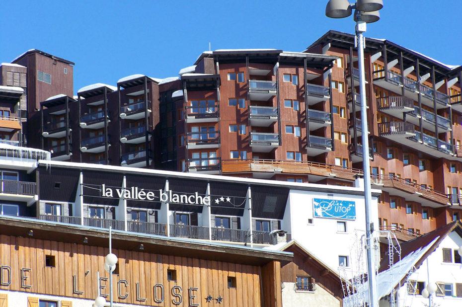 Les hôtels de la Vallée Blanche et de l'Ours Blanc