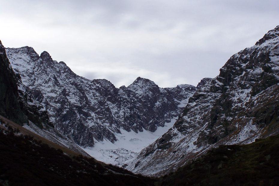 Le bout de la vallée du Vénéon en direction de la Pilatte