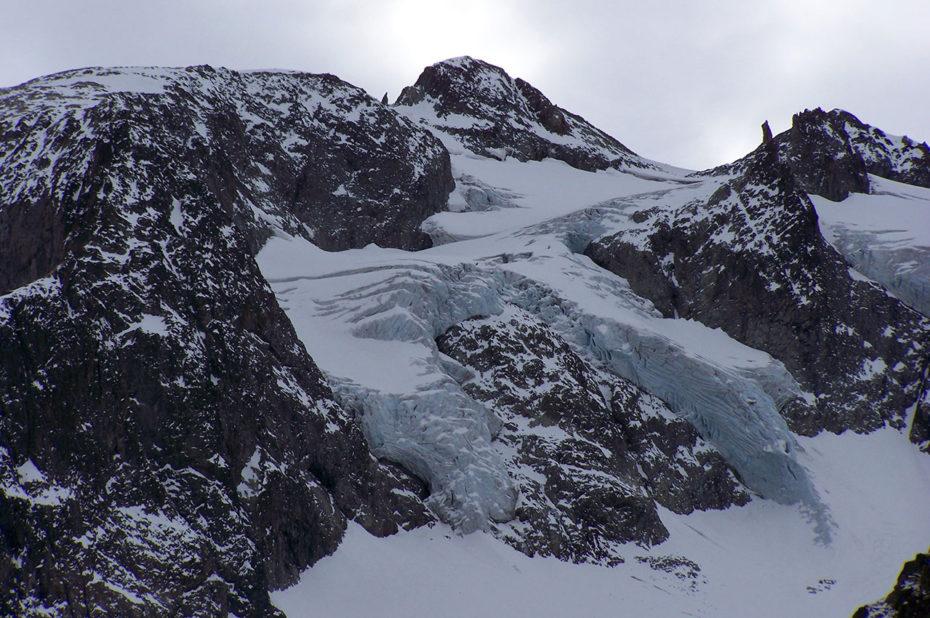 Le glacier du Gioberney, une voie d'alpinisme