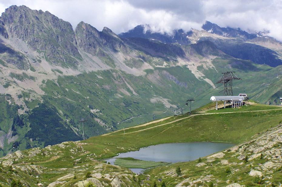 Le Lac Carrelet et l'Alpette