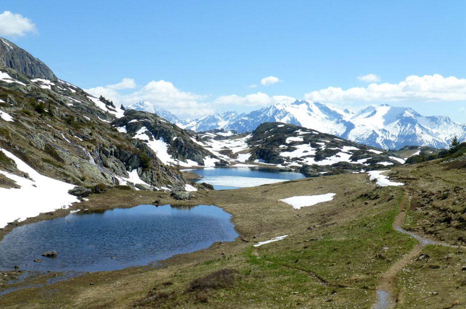 Magnifique paysage à contempler lors de la balade des Lacs