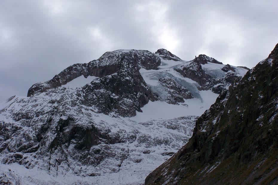 Le mont Gioberney, à 3352 mètres d'altitude