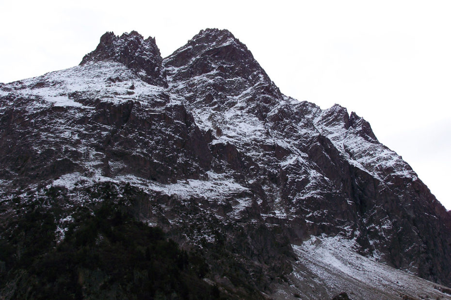 La neige saupoudre les sommets début novembre