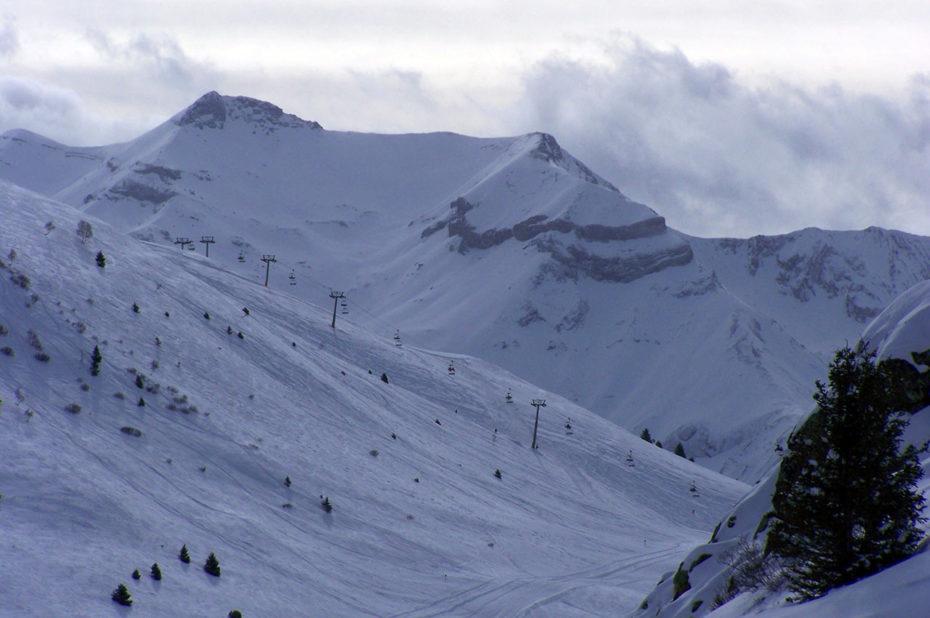 Pistes de ski dans la vallée de Sarenne