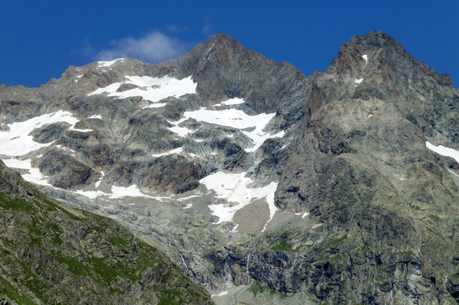 La Tête de la Gandolière, qui culmine à 3 542 m