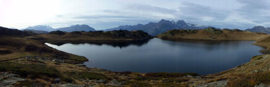 Vue panoramique du Lac Noir