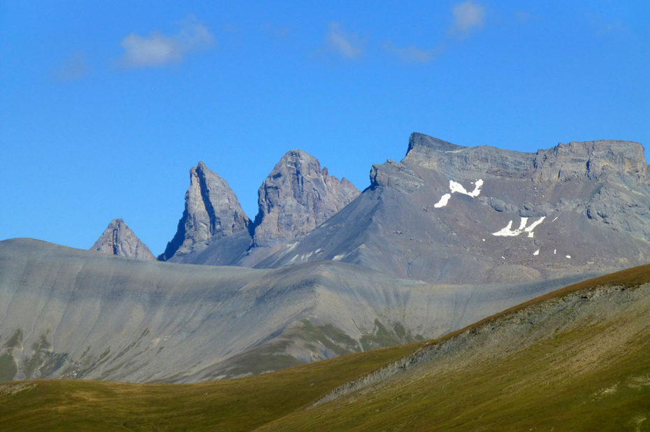 Les Aiguilles d'Arves, point culminant du massif des Arves