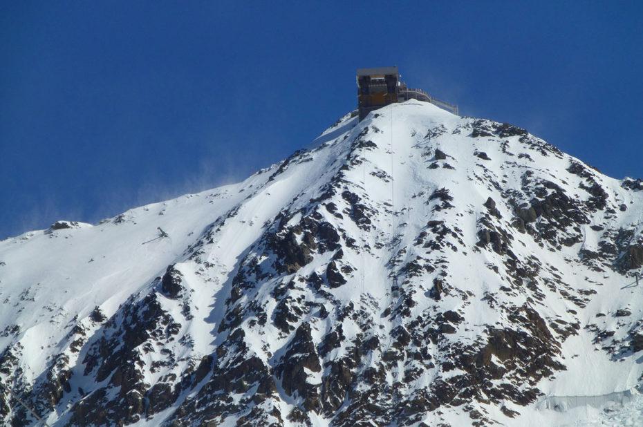 Le Pic Blanc, à 3350 m d'altitude