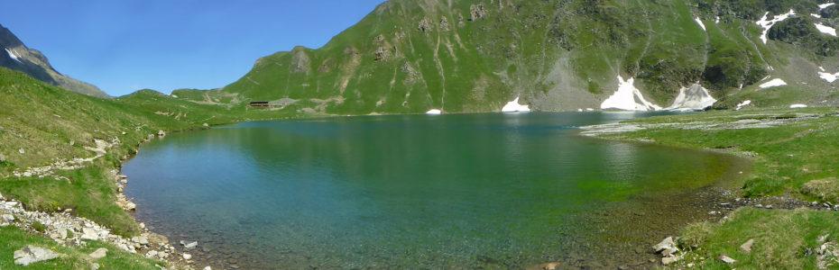 Lac de la Muzelle, à 2105 m d'altitude