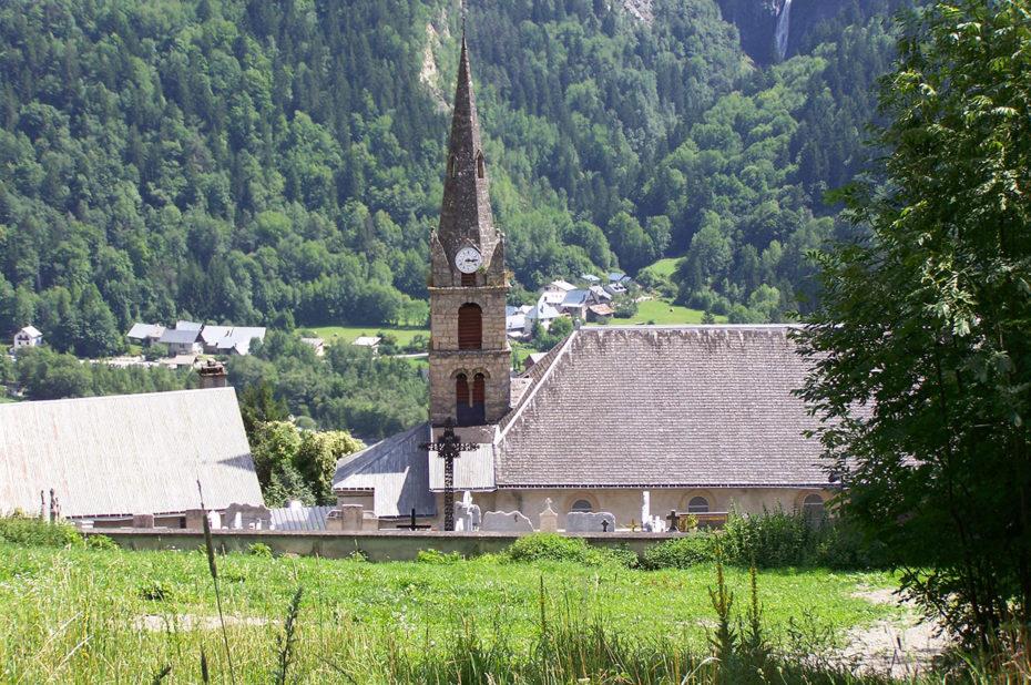 L'église de Vénosc, construite au IXe siècle