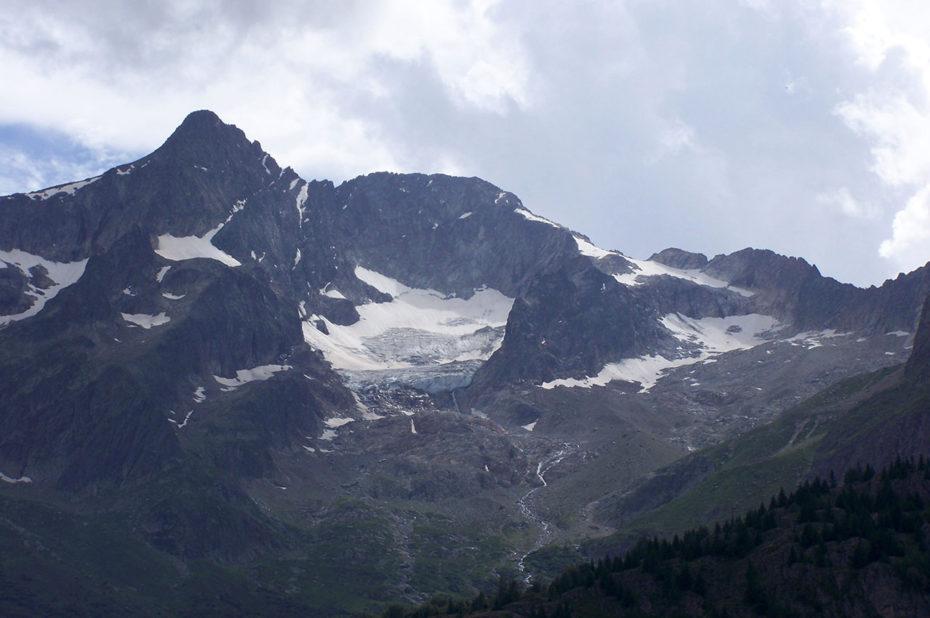 Les glaciers ne résistent pas au changement climatique