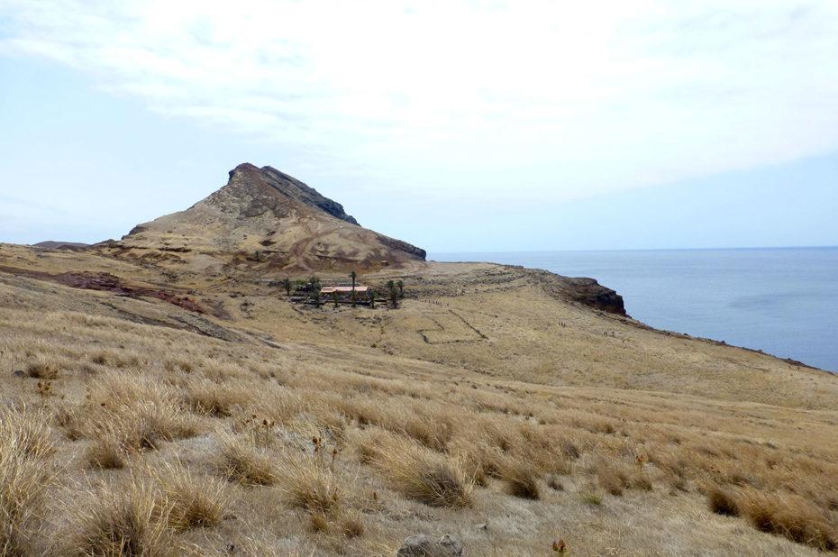 Cais do Sardinha à la pointe de Sao Lourenço