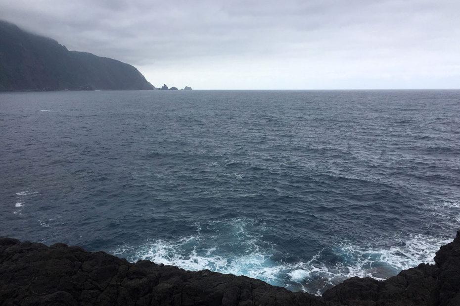 Ciel couvert sur l'Océan Atlantique