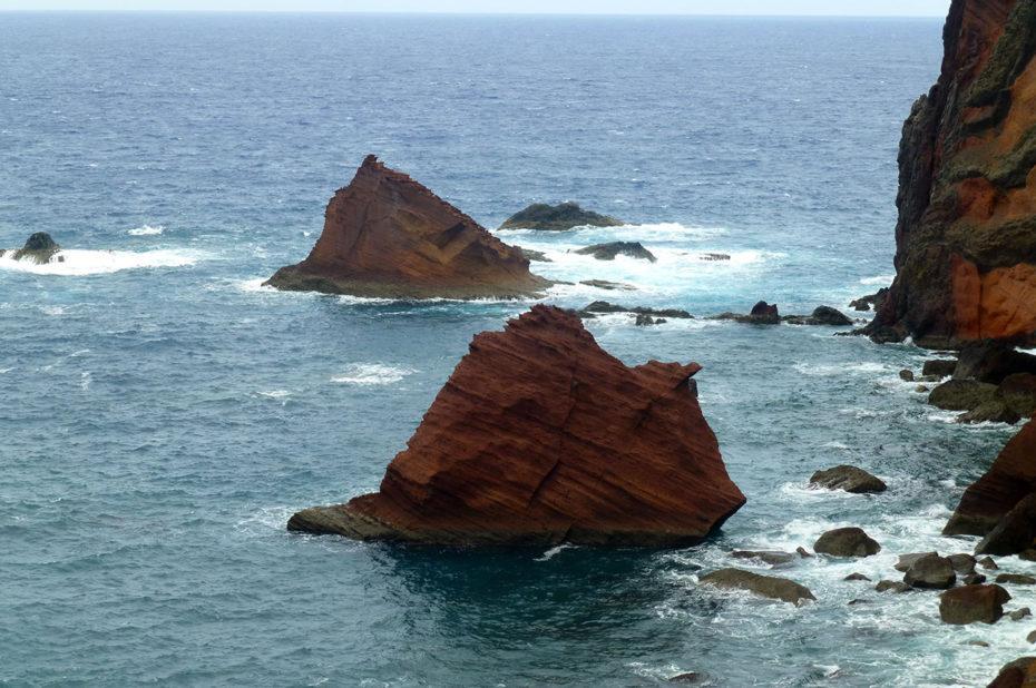 Récifs près de la côte