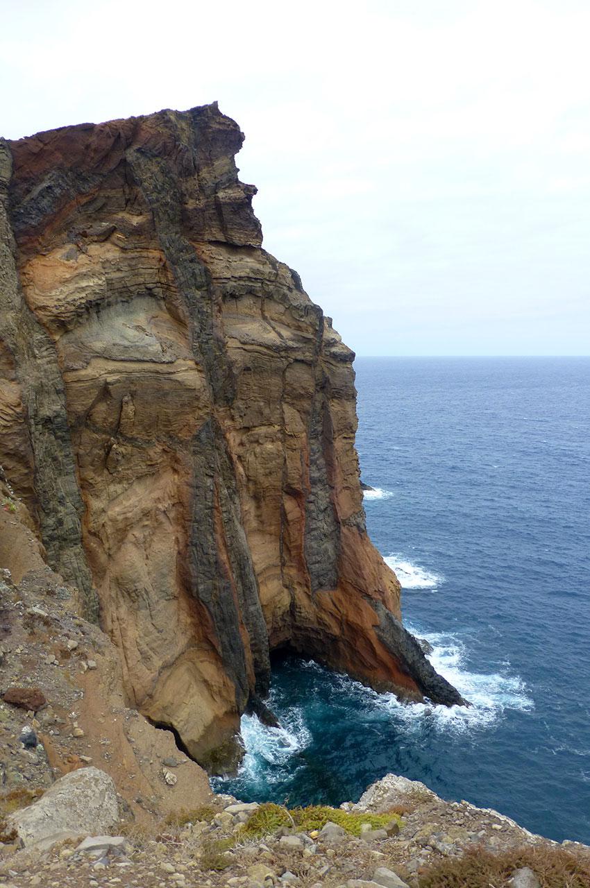 Paysage de falaises époustouflant