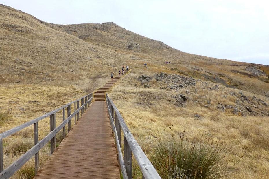 Une randonnée bien encadrée pour ne pas détériorer le paysage