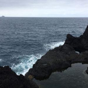 Spot idéal pour se baigner face à l'océan