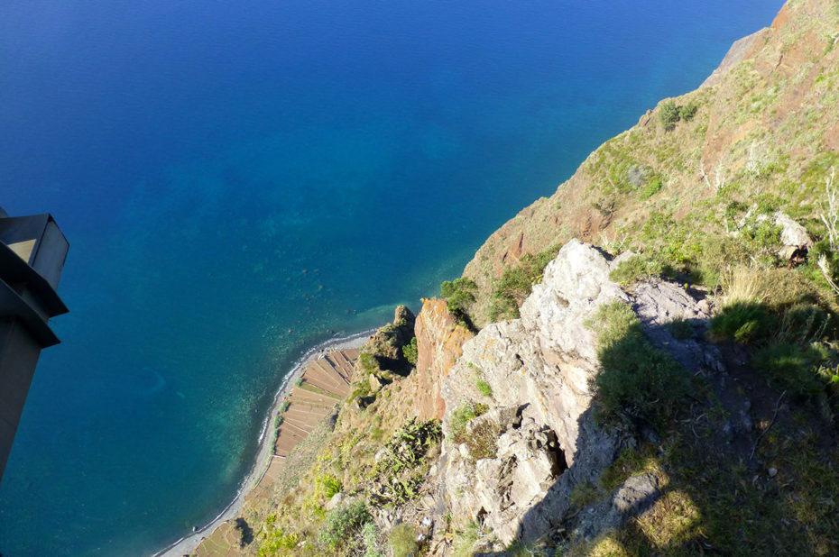 Le Belvédère du Cap Girão culmine à 580 m
