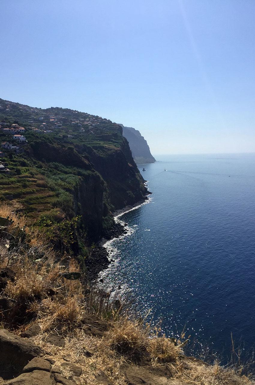 Côte sud de l'île de Madère