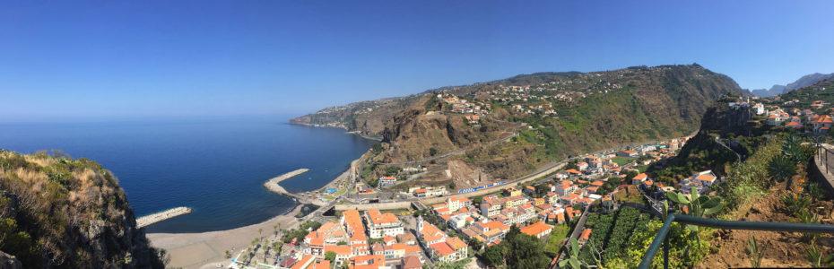 Ribeira Brava, point de vue sur la ville