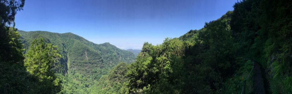 Randonnée Levada do Caldeirao Verde
