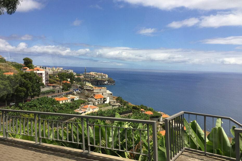 Arrivée à Funchal depuis l'ouest de l'île