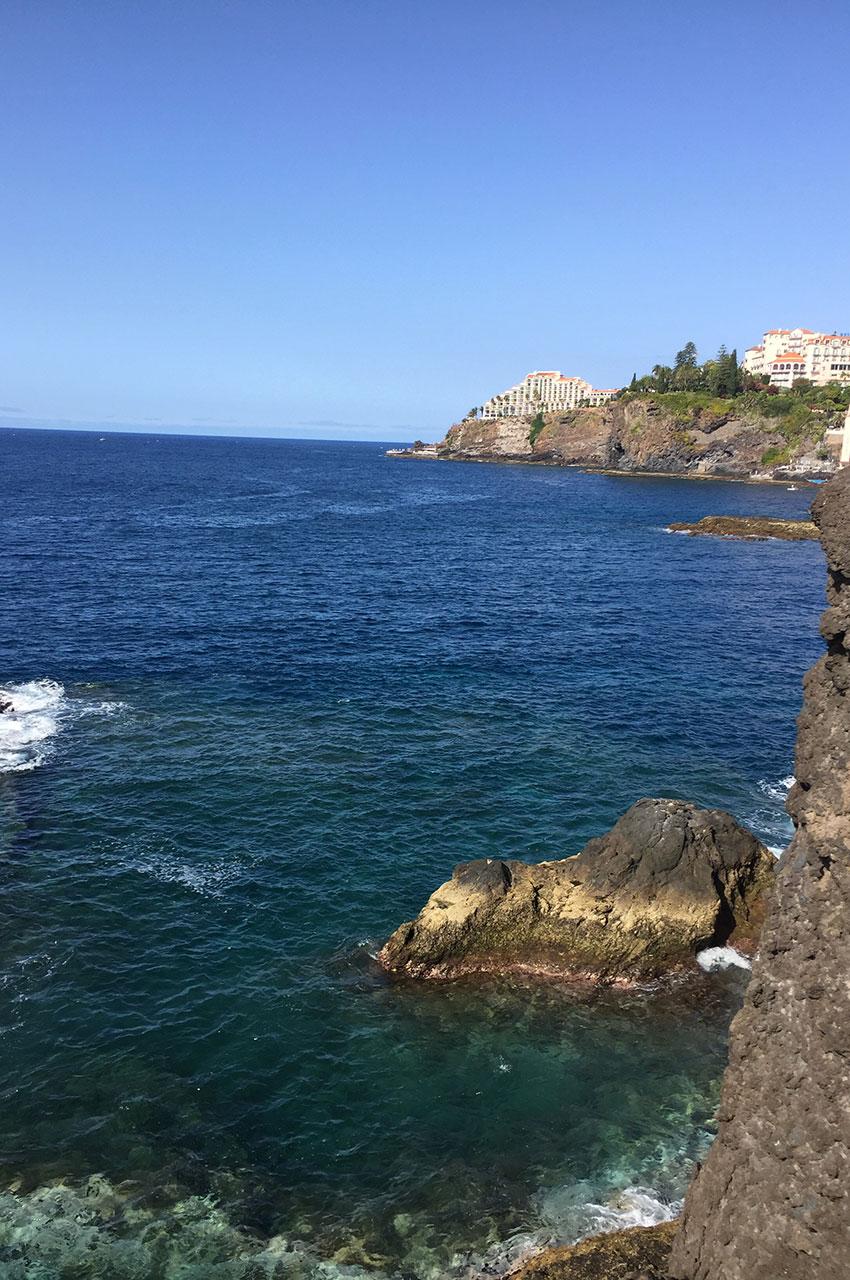 La côte depuis le fort Saint Joseph